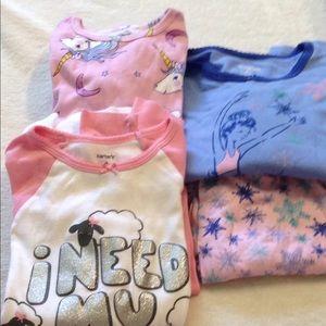 Carters Girl Pajamas Set (3 for $10)